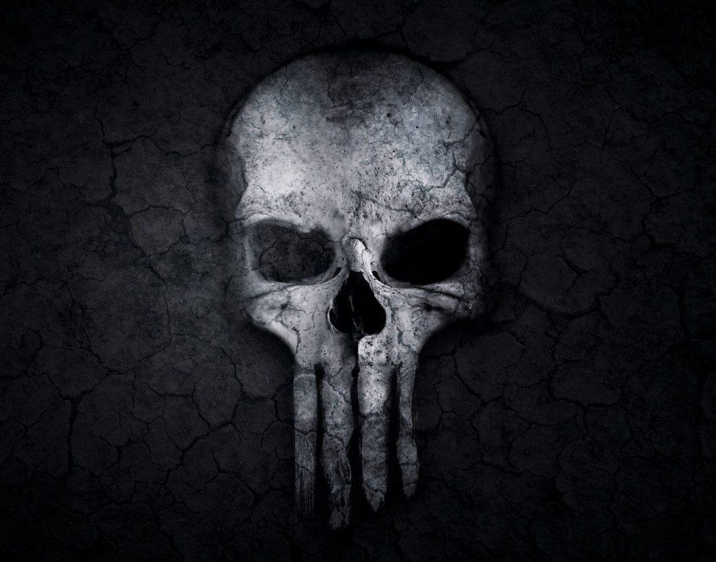 tête de mort, crâne, bizarre