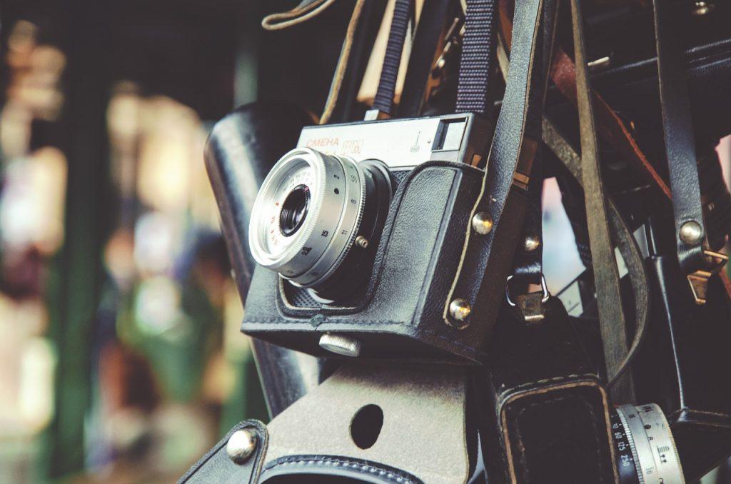appareil photo, vintage, photographie
