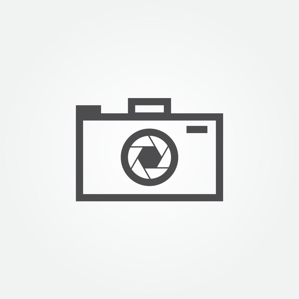 appareil photo, icône, symbole